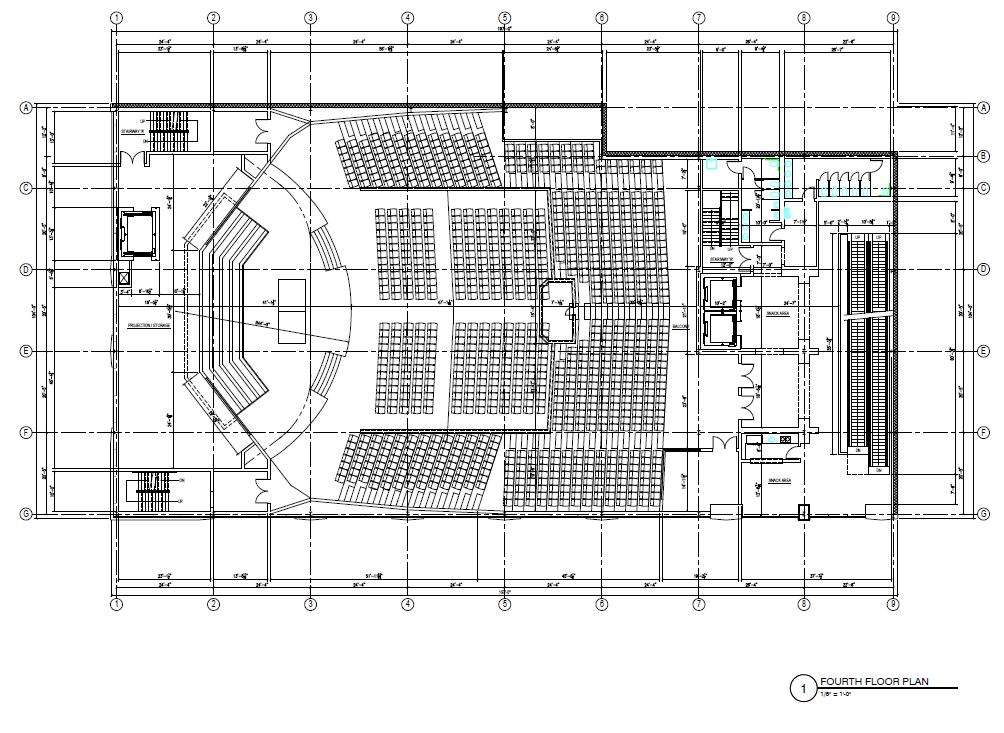 Love Gospel Assembly Floor Plans